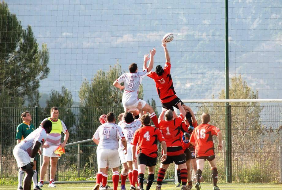 L'AS Monaco Rugby, toujours plus haut !(DR)