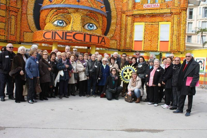 Les Beausoleillois étaient les invités du Rotary Club. (DR)