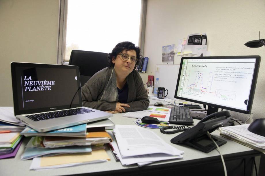 Agnès Fienga est astronome au laboratoire Géoazur de Sophia Antipolis.