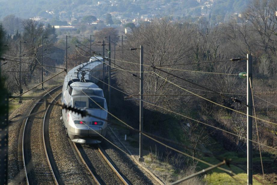 Image d'illustration d'un TGV.