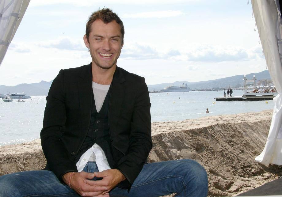 Jude Law au Festival de Cannes, en 2011.