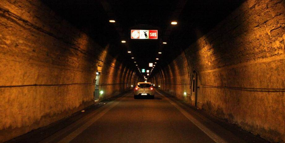L'intérieur du tunnel de Tende (image d'illustration).