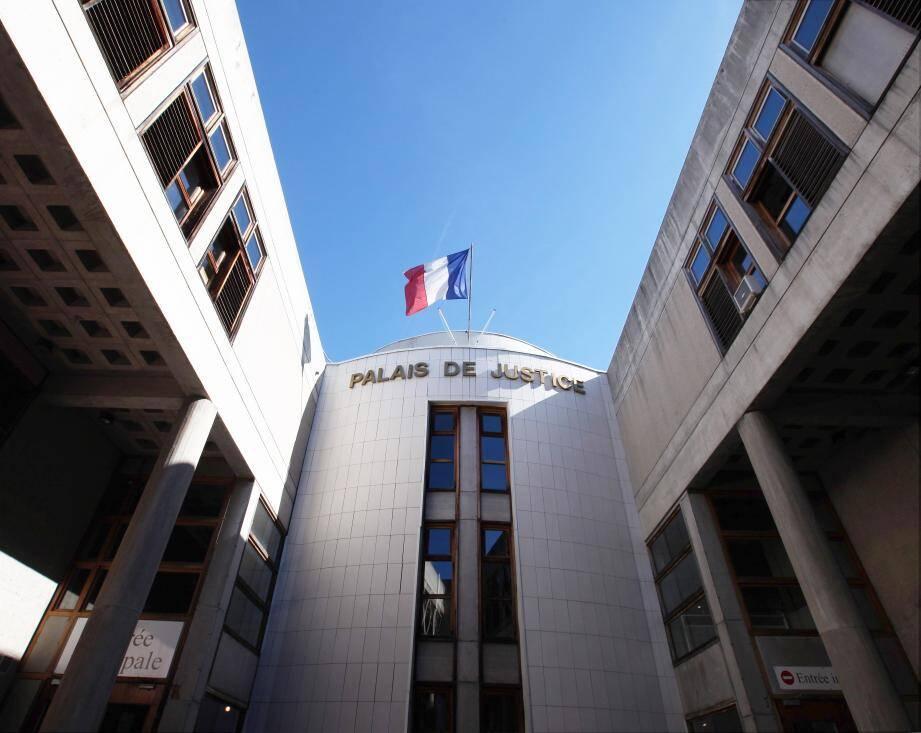 La palais de justice de Draguignan.