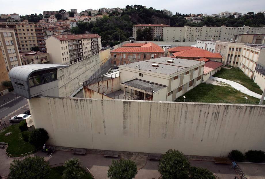 La maison d'arrêt de Nice (image d'illustration)