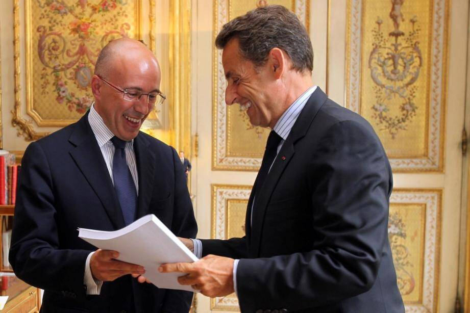 Eric Ciotti a exprimé sa confiance lors de la mise ne examen de Nicolas Sarkozy lors de l'Affaire Bygmalion
