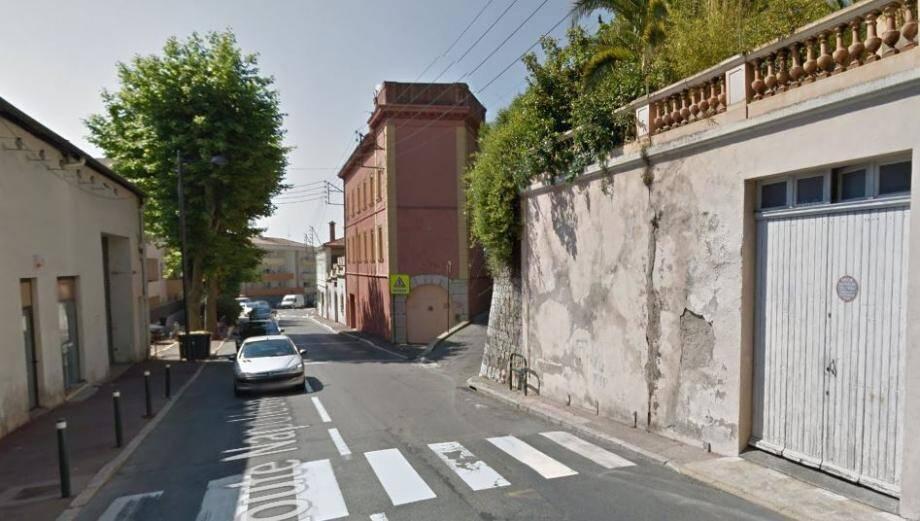 L'accident a eu lieu à Grasse.