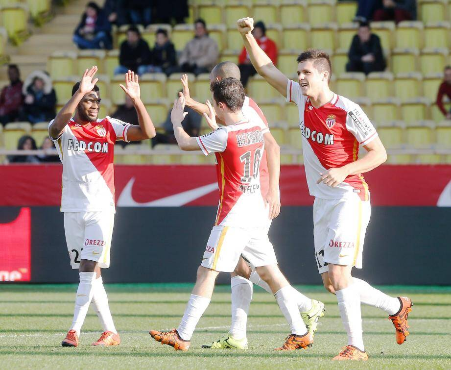 Monaco a inscrit six buts sur ses deux derniers matches au Louis-II.