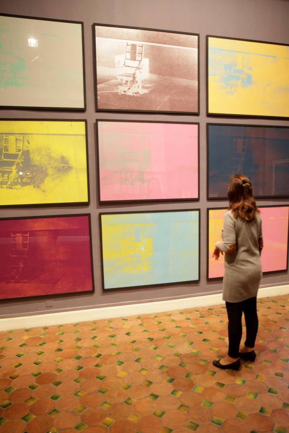 Andy Warhol, Jean-Michel  Basquiat: une solide amitié née en 1982 et évoquée dans le film de Julian Schnabel, projeté à l'occasion de cette exposition.