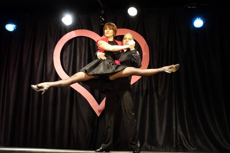 Impressionnants sur scène, Ingrid et Yohan ont également transmis leur passion aux amateurs.