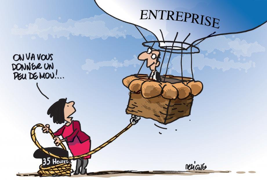 La future loi Travail pourrait bien être particulièrement favorable aux entreprises.