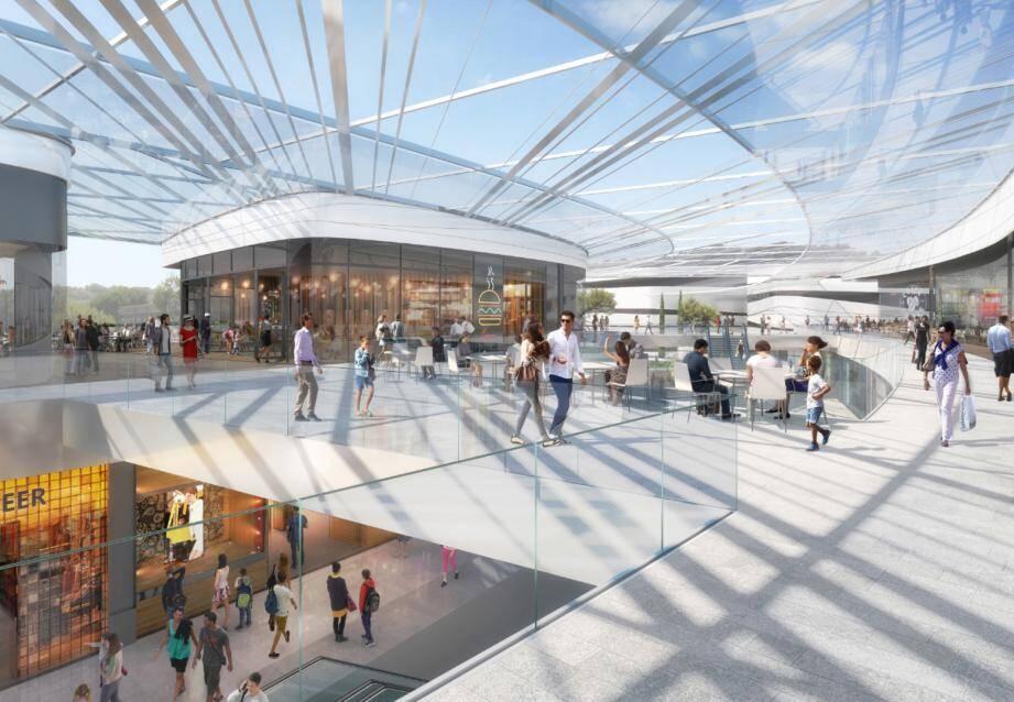 L'extension couvrira 25 000 mètres carrés.