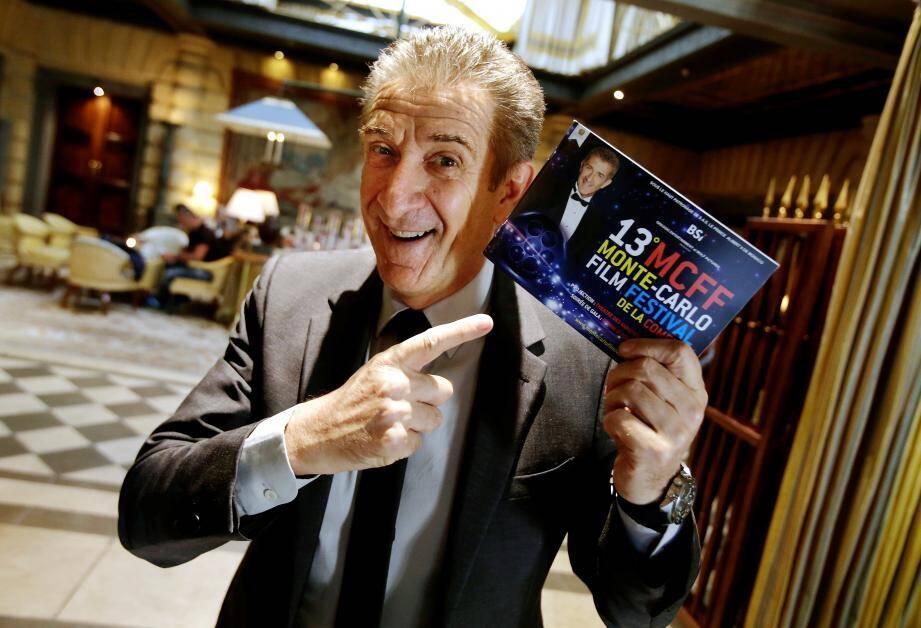 L'animateur de télévision italien est le président de ce festival qu'il a initié pour célébrer le genre cinématographique de la comédie.