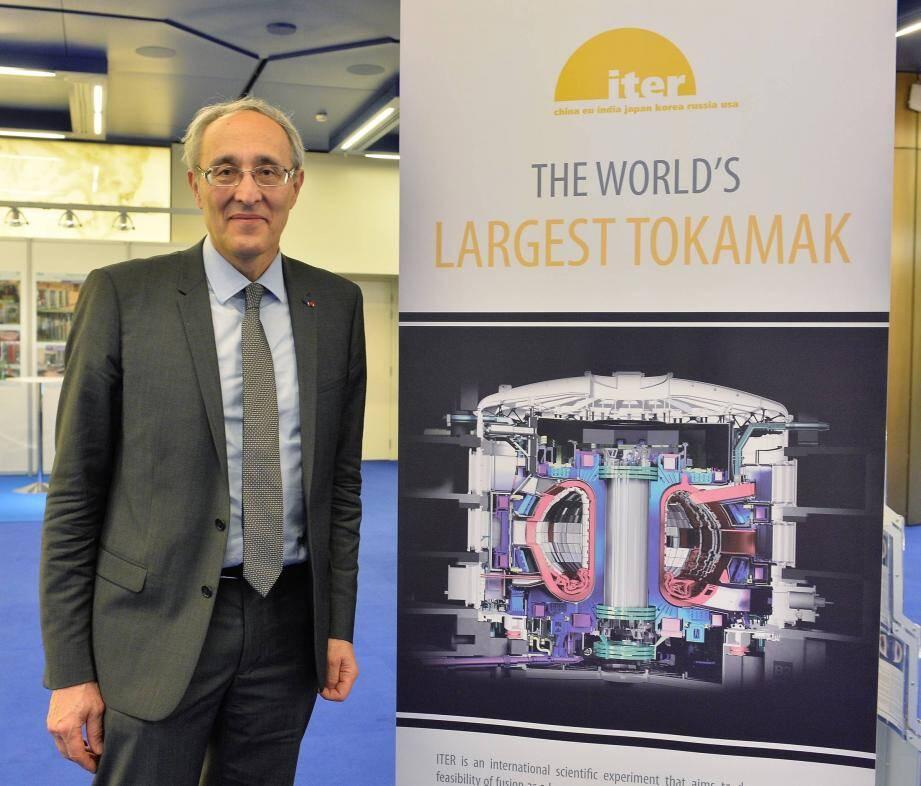 Bernard Bigot, directeur général d'Iter organization : « Le défi d'Iter c'est d'exploiter le phénomène de fusion qui se produit naturellement au cœur du Soleil, de le produire massivement », pour fournir l'électricité de demain.