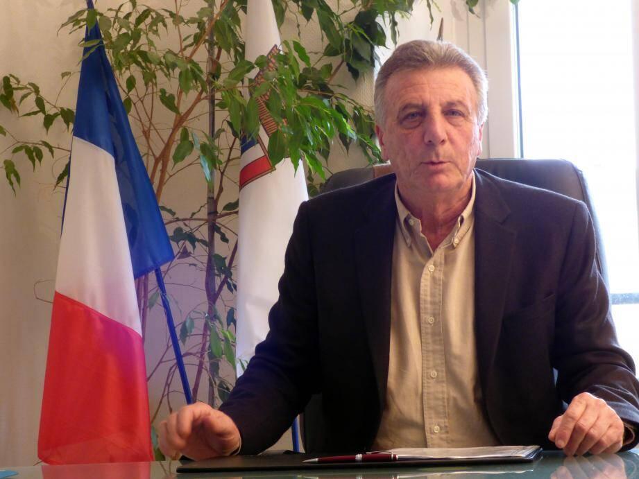 Le maire de La Trinité Jean-Paul Dalmasso.