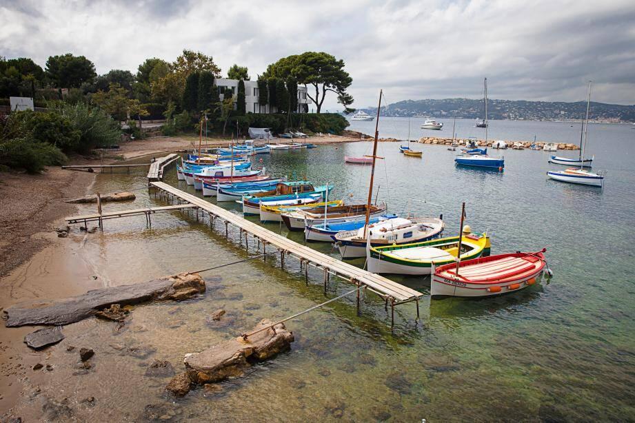 L'abri de l'Olivette, au cap d'Antibes.