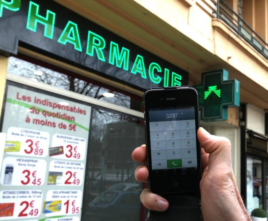En composant le 3237, un Collois a été invité à se rendre au commissariat de Grasse pour savoir où se trouvait la pharmacie de garde de nuit.