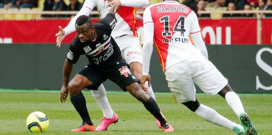 25eme journée de Ligue 1 de footballMonaco Nice stade Louis 2Jean Michael Seri