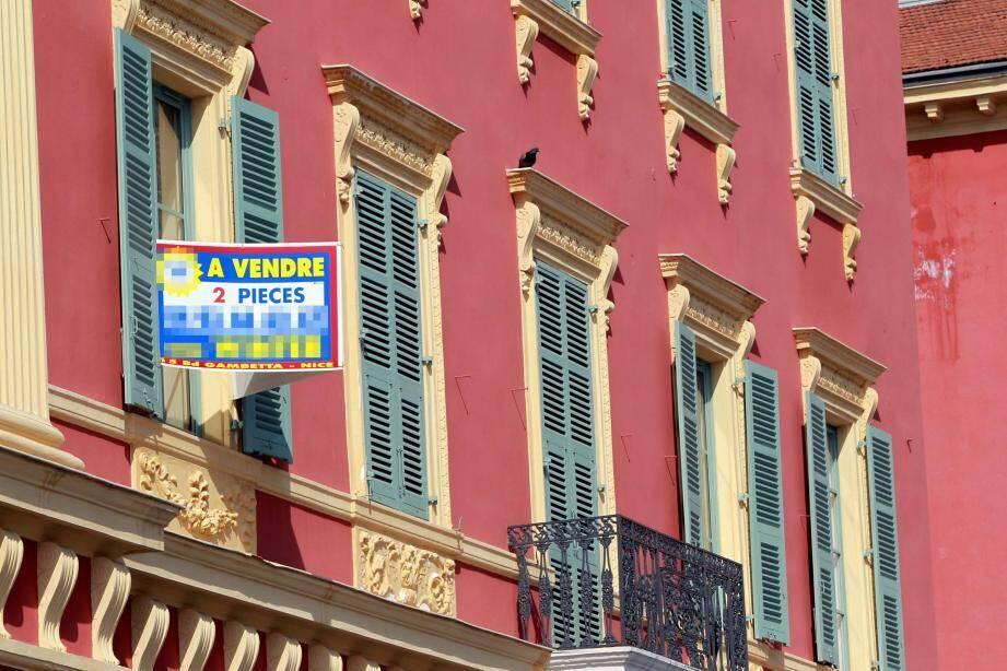 Le prix des 2 pièces a baissé à Nice