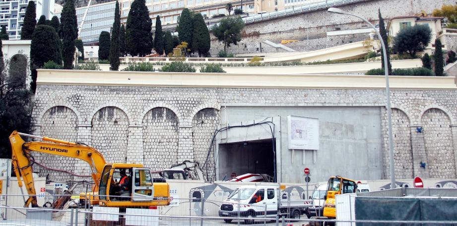 Le tunnel sera ouvert à la circulation en juillet prochain.