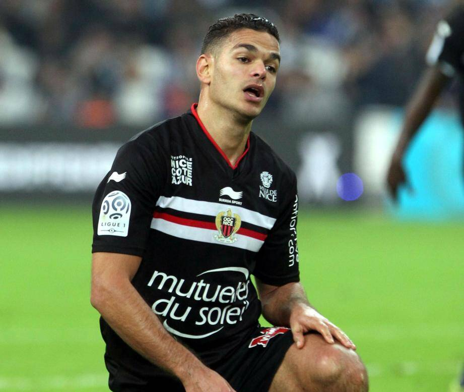 Hatem Ben Arfa et ses coéquipiers n'ont jamais battu un adversaire en position de relégable, cette saison en L1.