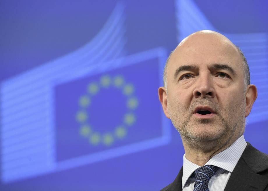 Pierre Moscovici, commissaire européen aux Affaires économiques et monétaires.