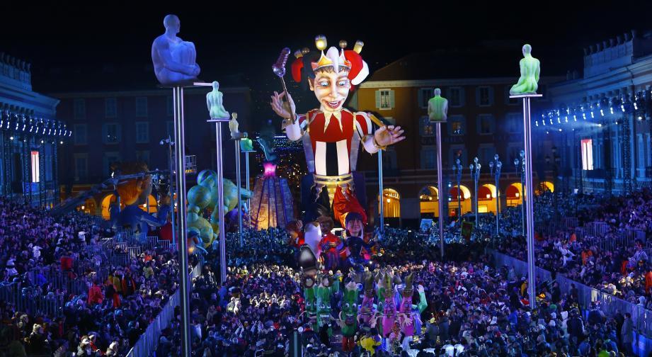 Carnaval de Nice, parade du samedi 13 fevrier. Carnaval de Nice, parade du samedi 13 fevrier.