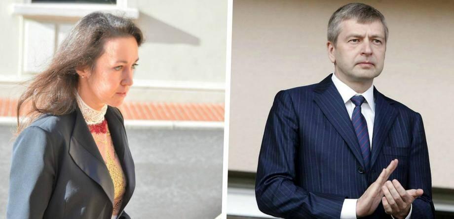 A gauche, Tetiana Bersheda, à son arrivée au Palais de Justice de Monaco. A droite: Dmitry Rybolovlev, propriétaire de l'AS Monaco.