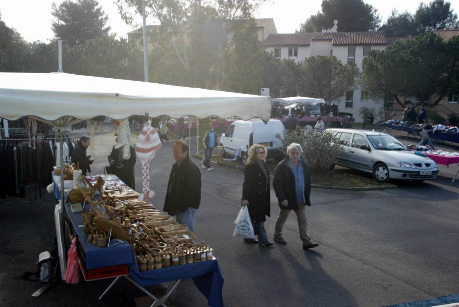 Le marché des Semboules.