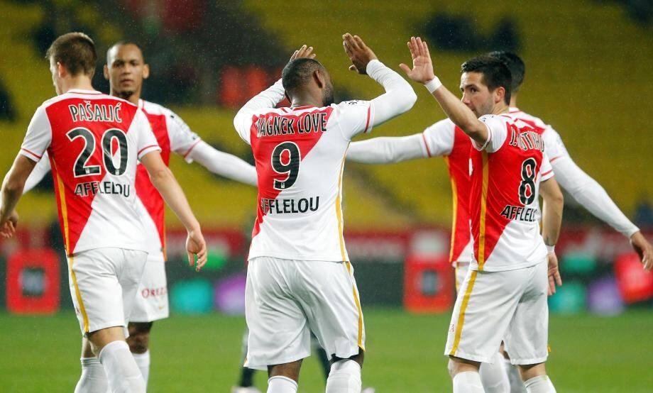 Monaco s'est imposé deux buts à zéro face à Bastia.