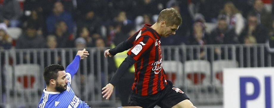 Match nul entre Nice et Marseille.