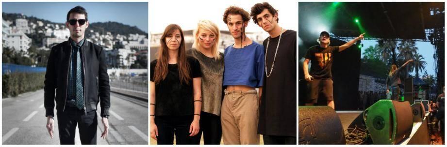 The Avener, Hyphen Hyphen et Nekfeu les trois talents niçois en lice pour les Victoires de la musique.