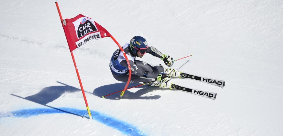 Le skieur d'Isola 2000 Mathieu Faivre