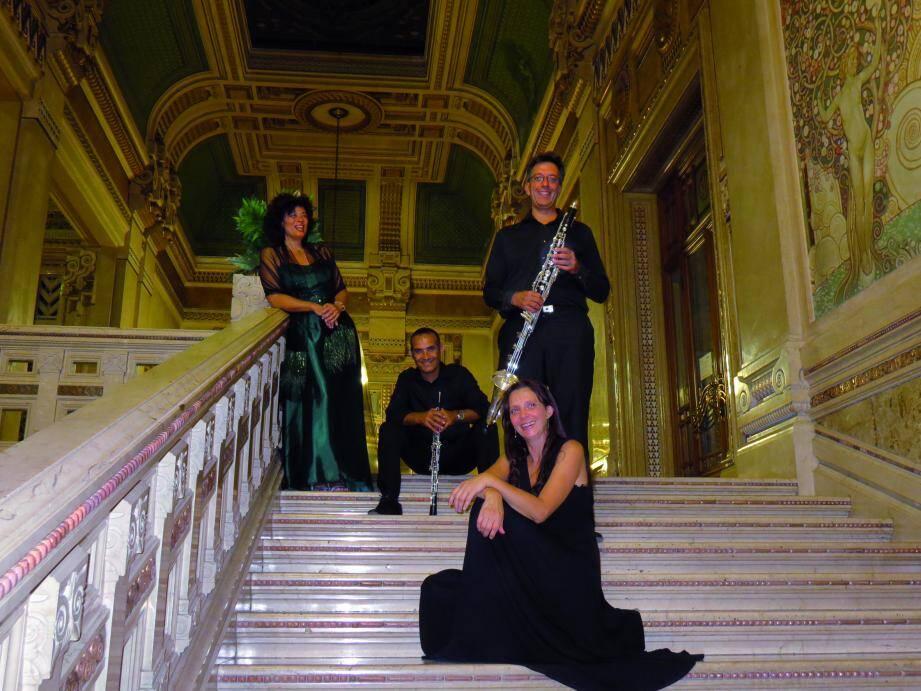 L'Art Gallery Ensemble aux côtés de la soprano Daniela Stigliano ouvrira cette 18e édition du Festival de musique de chambre.(DR)