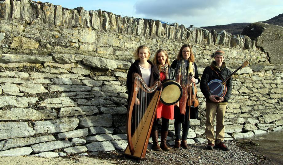 Le groupe de musique irlandaise Anam Mara donnera un concert à Cap-d'Ail le 17 mars et à La Turbie le lendemain.(DR)