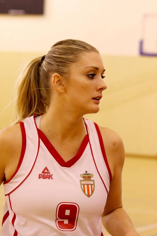 Pauline Machu, avec 22 points inscrits sur le match, a contribué à cette superbe victoire de l'ASM contre Marseille.