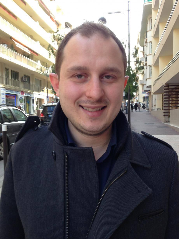 Lionel Tivoli, 28 ans, dirige le Front national azuréen depuis septembre 2015.