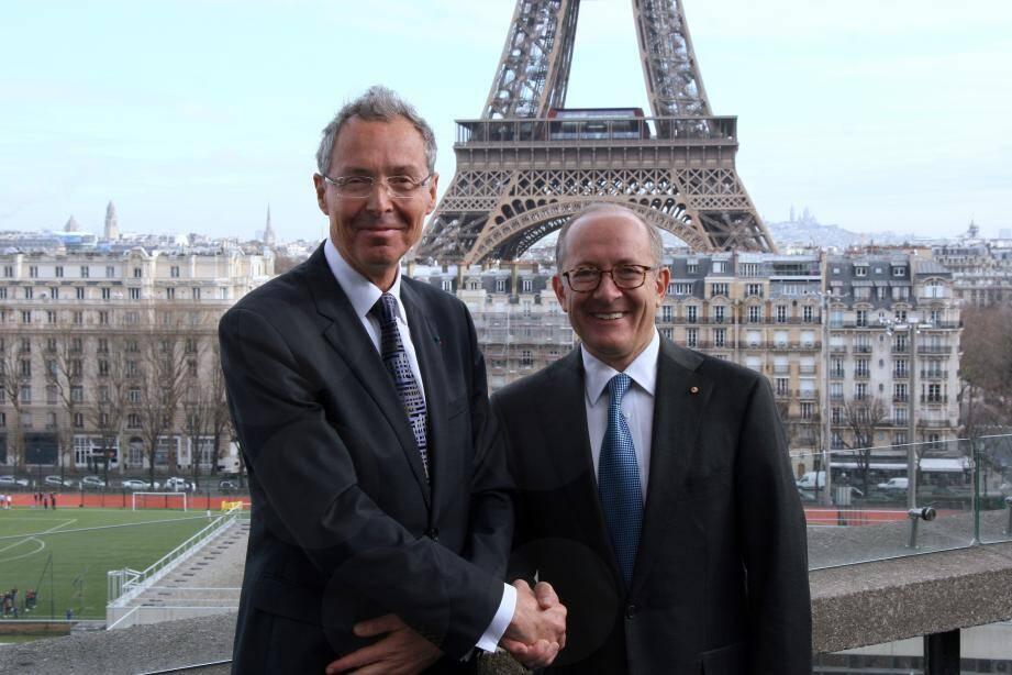 L'exposition consacrée par le Musée océanographique à l'art aborigène a été lancée à Paris, par le directeur de musée monégasque et l'ambassadeur d'Australie.
