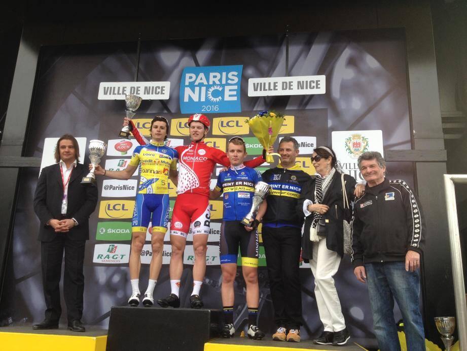 Le podium de la 14e édition.