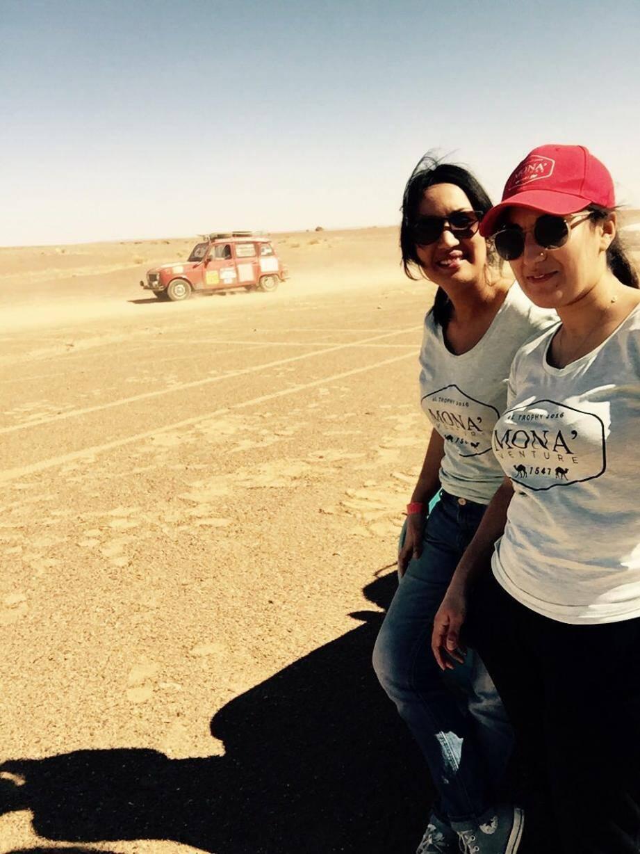 Nadia et Farah, de Monaco au désert du Maroc.(DR)
