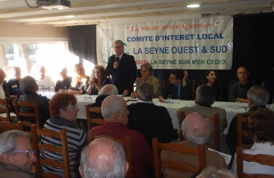 Les échanges ont duré plus de 2 h 30, vendredi après-midi, à l'occasion de l'assemblée générale du Comité d'intérêt local La Seyne ouest et sud.