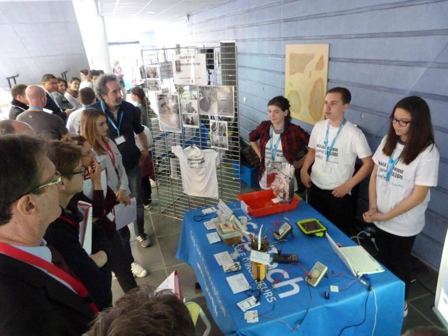 Les collégiens mandréens ont été sélectionnés pour leur projet de « cuiseur solaire » élaboré avec un ingénieur du CEA !
