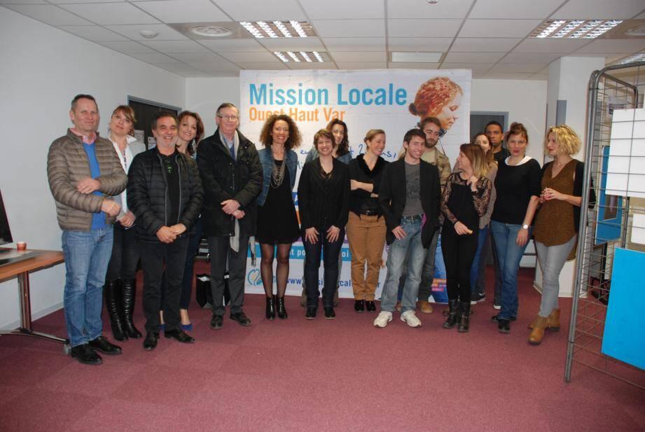 Ils ont participé et animé une semaine qui a permis à des jeunes de découvrir les activités de la mission locale.