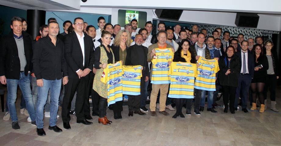 Les dirigeants du Sporting treiziste ont réuni élus et partenaires pour une soirée placée sous le signe du sport et de la convivialité.