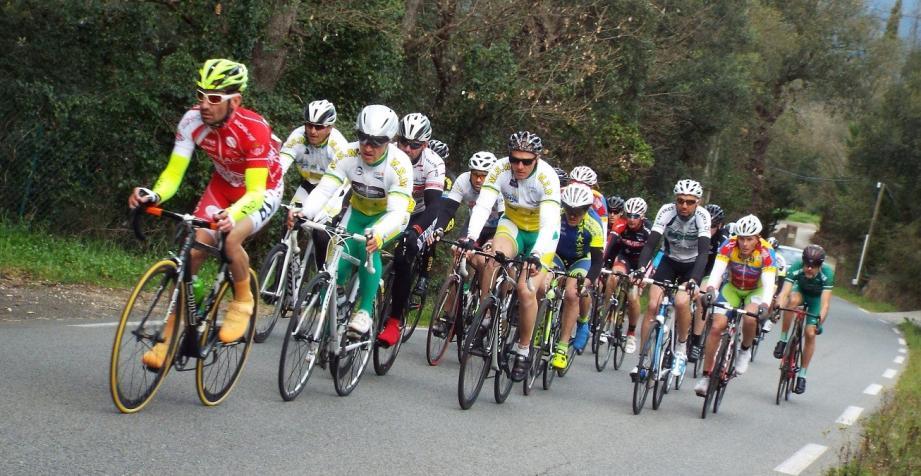 Quatre vingt coureurs étaient au départ du Grand prix de Grimaud qui a fêté sa 10e édition.