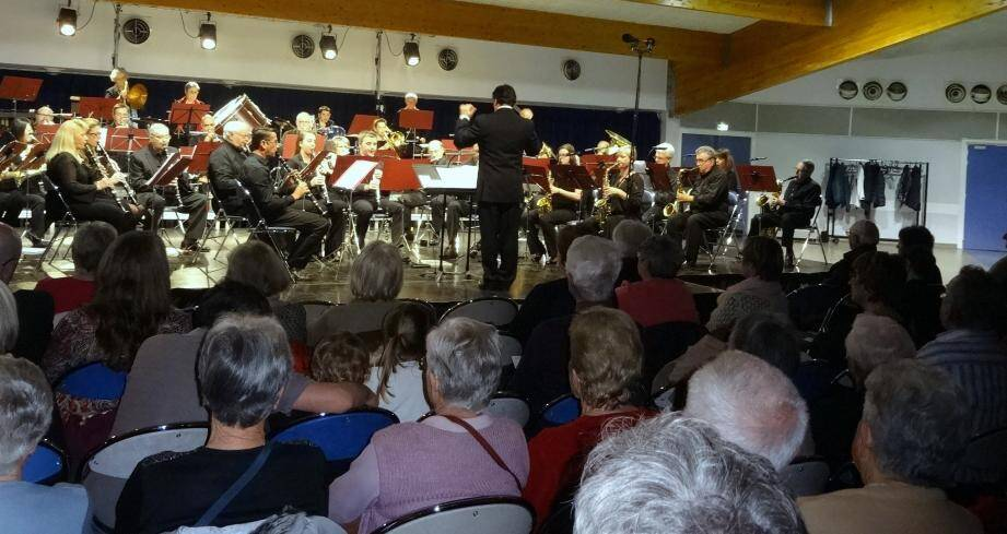 Deux cent spectateurs avaient pris place pour ce traditionnel concert marquant les quatre saisons.