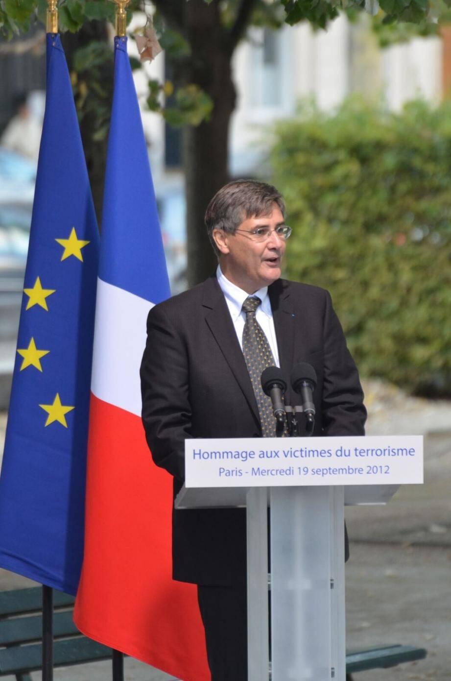 Guillame Denoix de Saint Marc, directeur de l'association française des victimes du terrorisme, lutte pour leur reconnaissance.(DR)