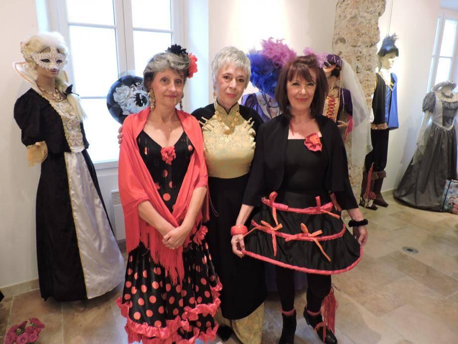 L'exposition de Brigitte Delferière est à voir jusqu'au 28 mars.