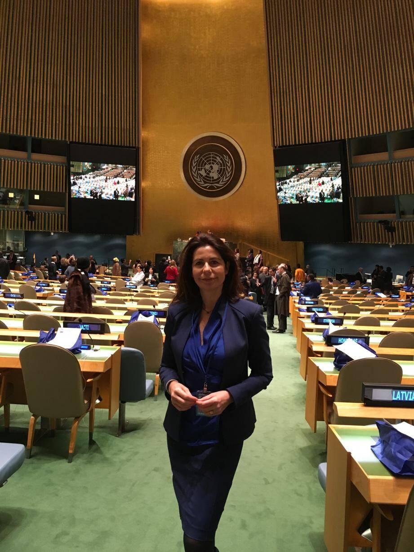 Beatrice Fresko-Rolfo a participé à la 60e réunion de la Comission de la condition de la femme des Nations Unies.