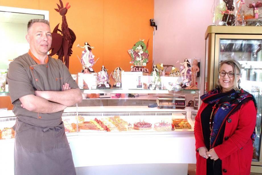 Franck Gobert et Maliem de Ava présentent leurs œuvres communes à La Chocolatine.