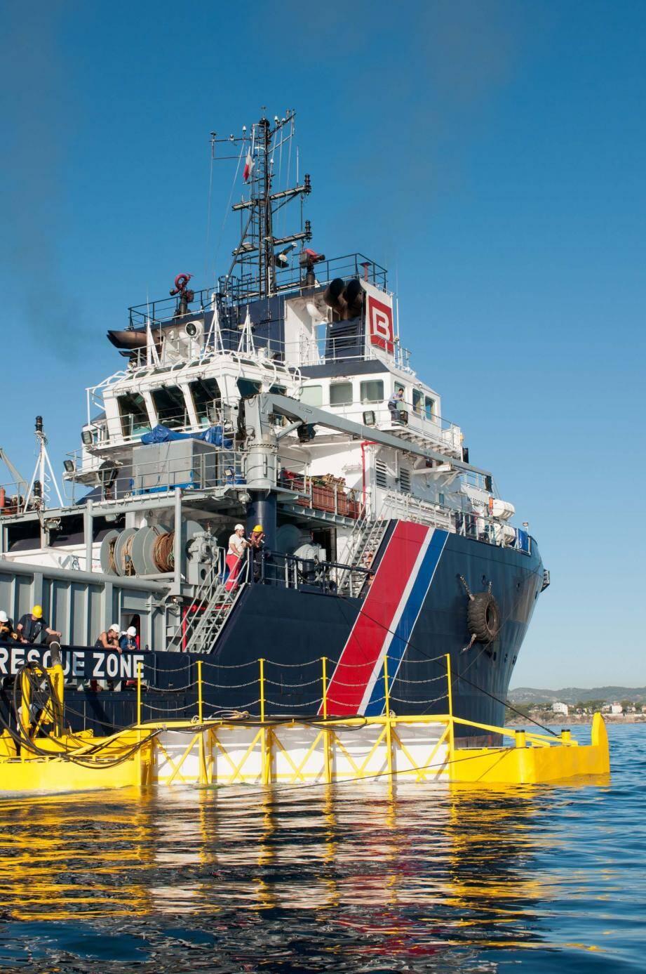 Les 26 et 27 avril, une collision entre deux navires sera simulée au large de la Principauté.